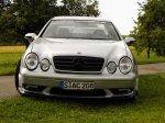 Mercedes W208 CLK Silver-Eagle